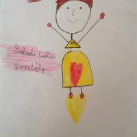 Gyerekek alkotásai - a kiírt pályázatra