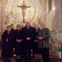 A templomot takarítók megvendégelése - 2013