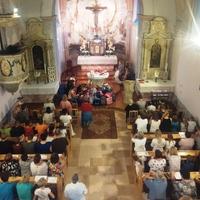 Tanévnyitó szentmise  -  Iskolatáska - szentelés  - Pilisszentkereszt - 2016