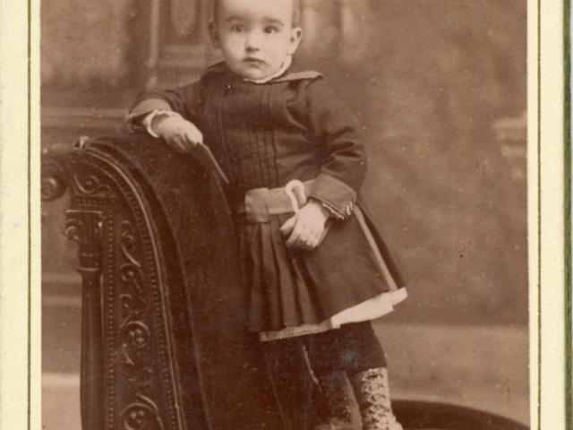 Csáth Géza gyerekkora a családi fotókon