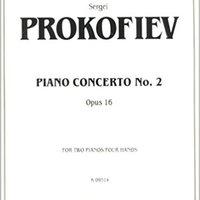 ,,INSTALL,, Prokofieff Piano Concerto #2. program improve Grupo utiliza credit Mejor