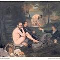Édouardina Manet: Reggeli a szabadban
