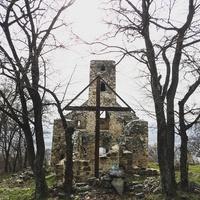 Szent Balázs-hegyi templom-romnál kirándultunk
