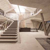 Salzburgi Panzerhalle Loft: nagyvonalú, nyitott terek
