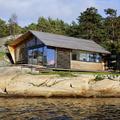Østfold kabin, letisztult otthon csodálatos környezetben
