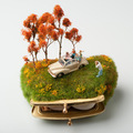Miniatűr alkotások hétköznapi használati tárgyakból