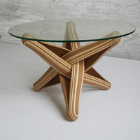 LOCK bambusz asztal