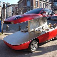Fiat Coupéból street food kocsi