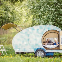 Tinycamper, a kicsi és praktikus lakókocsi
