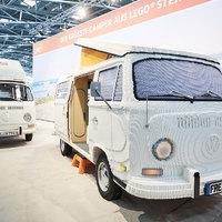 Életnagyságú LEGO Volkswagen T2