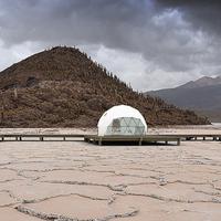 Kachi Lodge, különleges szálláshely a világ legnagyobb kiterjedésű sómezején