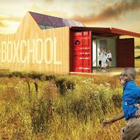 Boxchool, moduláris konténeriskola koncepció