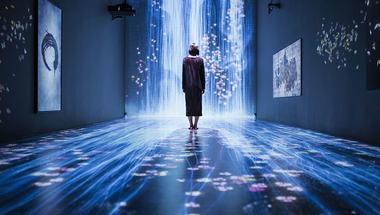 Transcending Boundaries, varázslatos interaktív installáció