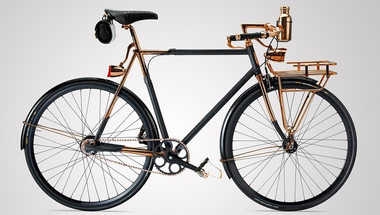 Wheelmen, pitonba csomagolt kerékpár
