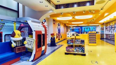 A világ legnagyobb LEGO boltja