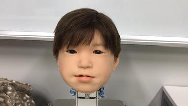 Affetto, gyerekarcú android