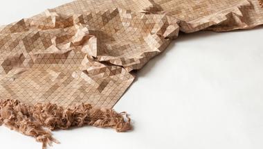Wooden Textile, a fa textília