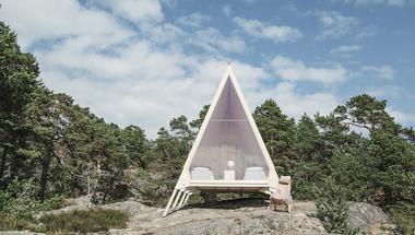 Nolla Cabin, minimalista faház a környezettudatos életvitelhez