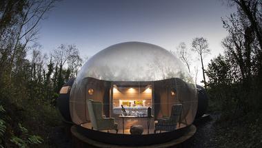 Buborékhotel Észak-Írországban