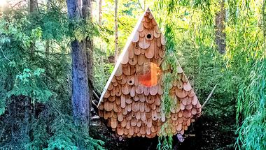 Bird Hut, menedék embernek és madárnak