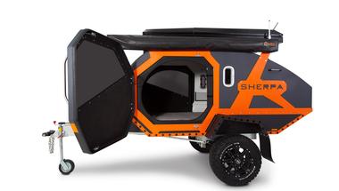 Sherpa offroad trailer, minden igazi kalandor álma