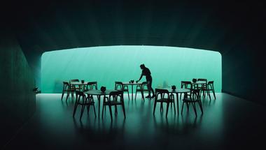 Európa első víz alatti étterme
