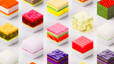 Személyre szabott 3D nyomtatott sushi