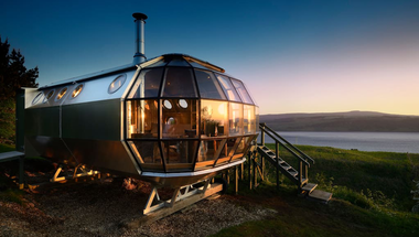 Airship 002, airbnb a Skót-felföldön