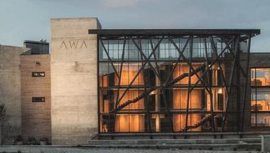 AWA hotel, kilátás egy vulkánra