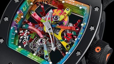 """"""" RM 68-01 """" igazi modern műalkotás az órák között"""