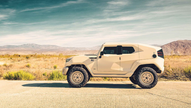 Rezvani Tank, katonai stílusú külvárosi SUV