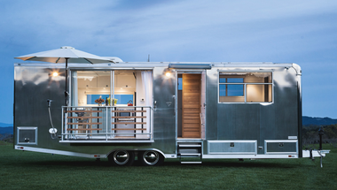 Living Vehicle, stílusos mobil otthon