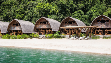 Lenyűgöző szálláshely Vietnam egyik eldugott öblében