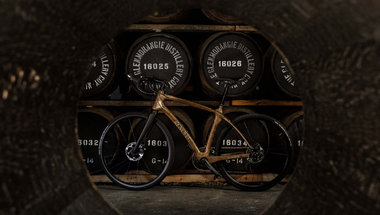 Whiskys hordóból kerékpár