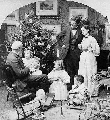 546px-Grandpa's_visit_Christmas_morning 1897.jpg