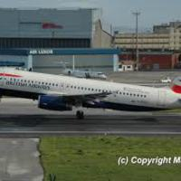 British Airways 2007: letakart melegek