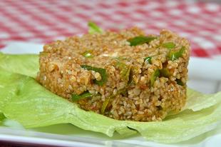 Kisir - török búzadara (bulgur) saláta