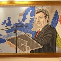 Újabb Orbán festmény született