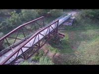 Rozsdafoltok - Az oladi vasúti híd