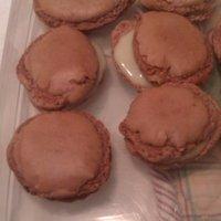 Csokis macaron