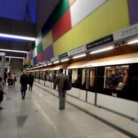 A 4-es metró élőhelyei