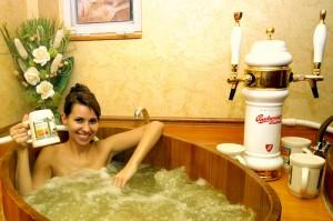 sör fürdő