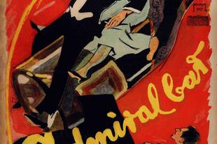 """""""Admus"""" – így becézték a lokált. Reklámplakát 1919."""