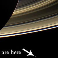 A Szaturnusziak ilyennek látnak minket..