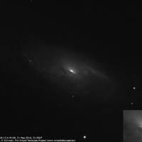 Új szupernóva az M106 galaxisban