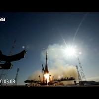 Videón a Szojuz rakéta fellövésének menete