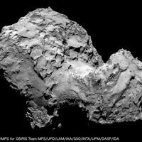 Első közeli a Rosetta szonda üstököséről