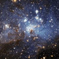 [Nap képe] LH 95 csillagbölcső a Nagy Magellán-felhőben - 2013 08 18