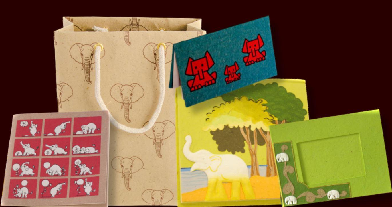 Jön az elefánt trágyából készült merített papír