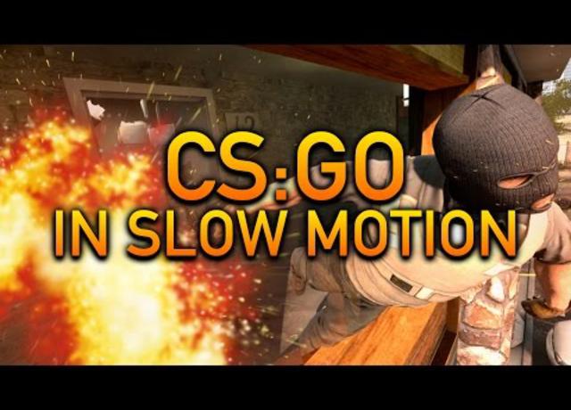 A CS:GO lassítva nagyon relax